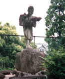 「二宮尊徳」野外彫刻イメージ
