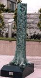 「樹」野外彫刻イメージ