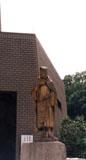 「五浦釣人」野外彫刻イメージ