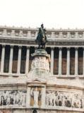 「ヴィットリオ・エマヌエーレ2世」野外彫刻イメージ