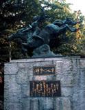 「平和の女神」野外彫刻イメージ