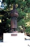 「和気清麻呂公像」野外彫刻イメージ