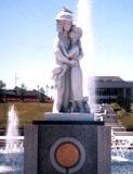 「天使と恋人たち」野外彫刻イメージ