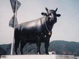 「千屋牛」野外彫刻イメージ