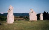「石の風車」野外彫刻イメージ