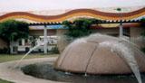 「エアーズロックオブジェ」野外彫刻イメージ