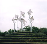 「白い森WhiteForest」野外彫刻イメージ