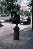 「本を読む人」野外彫刻イメージ