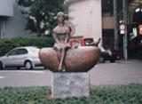 「ひとり」野外彫刻イメージ